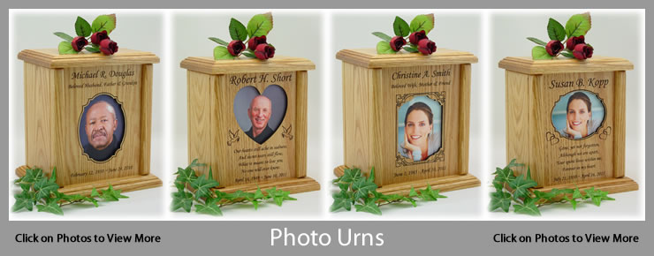 Human Photo Urns for People